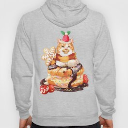 Christmas cupcake (CAT) Hoody