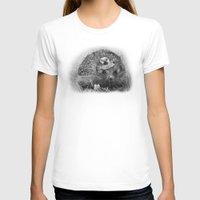 hedgehog T-shirts featuring Hedgehog by MARIA BOZINA - PRINT