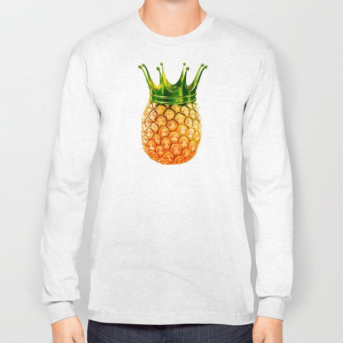 Pineapple? kingapple! Long Sleeve T-shirt