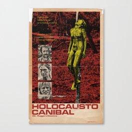 Cannibal Holocaust Poster Canvas Print