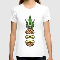 pineapple T-shirts featuring Pineapple by Jan Luzar