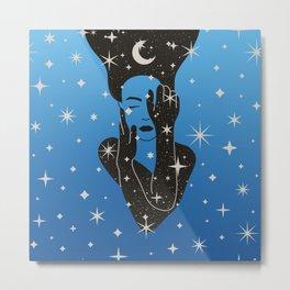 Shiny, moon Metal Print
