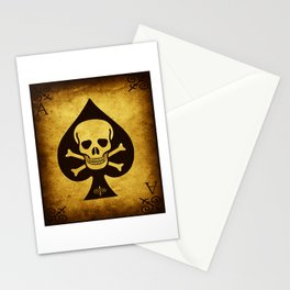 Death Card - Ace Of Spades Stationery Cards