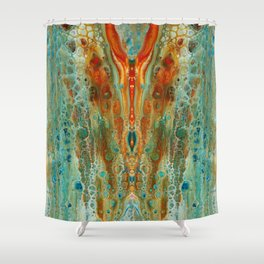 mirror 8 Shower Curtain
