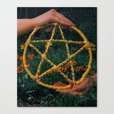 Ace of Pentacles Canvas Print