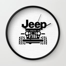Jeep Wall Clock