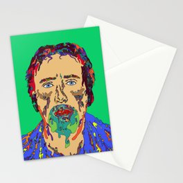 Face Melt Stationery Cards