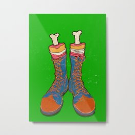 Coulrophobia (Clown Phobia) Metal Print