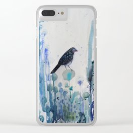 l'heure bleue Clear iPhone Case