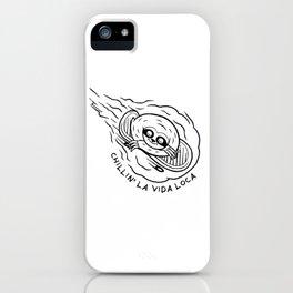 Chillin' La Vida Loca iPhone Case