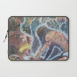 Come to me all you weak and weary. Laptop Sleeve