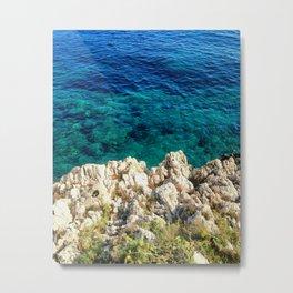 Saturday By The Sea Metal Print