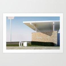 Paradise Lounge Art Print