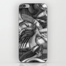 abstract techXpressionism Take iPhone & iPod Skin