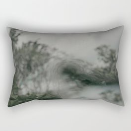 Stormy Sea Abstract Film Rectangular Pillow