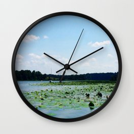 Lilly of the River...not the valley Wall Clock