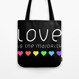 Love Is The Majority (Color) Tote Bag