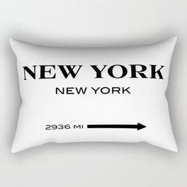 gossip girl sign Rectangular Pillow