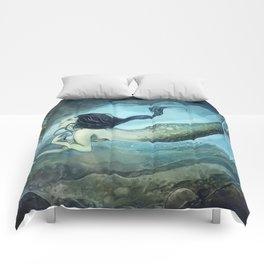 mermaid treasure Comforters