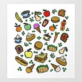 Food #2 Art Print