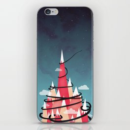 Up To The Stars iPhone Skin
