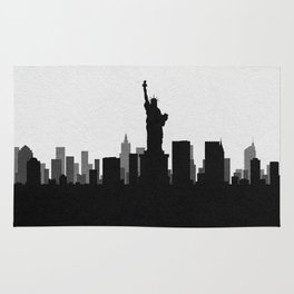 City Skylines: New York City Rug