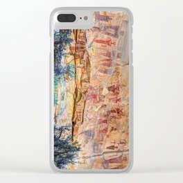 Sego Canyon Indian Petroglyphs And Pictographs Clear iPhone Case