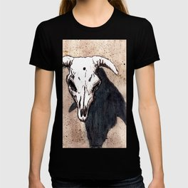 Corrales Cow Skull, Bullet Hole T-shirt