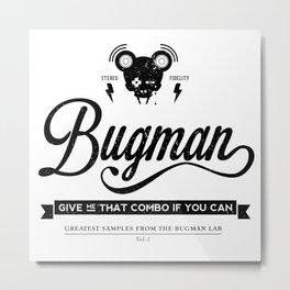 Bugman version 1 Metal Print