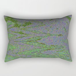 GORIAN MOSS GROWING ON FALIS THREE ON A CLOUDY DAY Rectangular Pillow