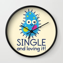 It's All About Paramecium Wall Clock