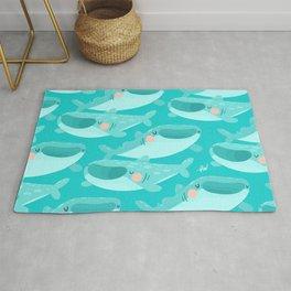 Summer Whale Shark Rug