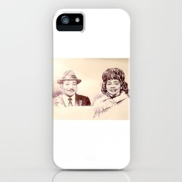 Martin Luther King & Coretta Scott King iPhone Case