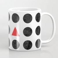 minimalism Mugs featuring Minimalism 2 by Mareike Böhmer