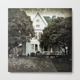 Haunted Hauntings Series - House Number 3 Metal Print