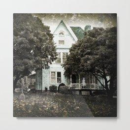 Haunted Hauntings Series - House Number 3 Metal Print