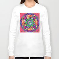 vegetable Long Sleeve T-shirts featuring Vegetable Mind by pocketsoup