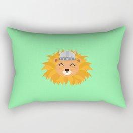 Viking lion head T-Shirt for all Ages Dsok9 Rectangular Pillow