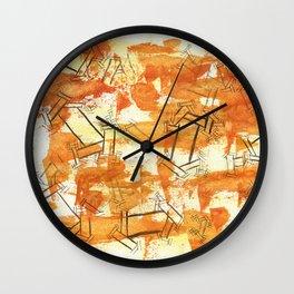 October Sober Wall Clock
