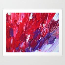 Strokes in love Art Print