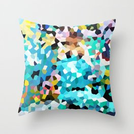 Colorful Moments Throw Pillow