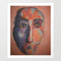 Camel Man Art Print