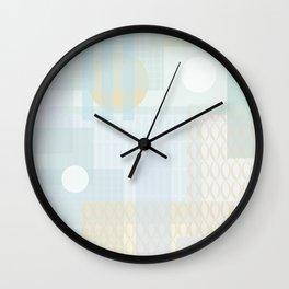 City dawn Wall Clock