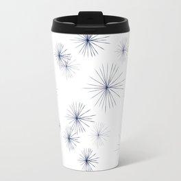 burst navy Travel Mug
