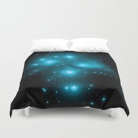 constellation Duvet Covers featuring Constellation by 2sweet4words Designs