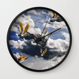 Freedom Ladies Wall Clock