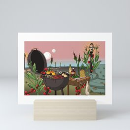 From the Ground Up Mini Art Print