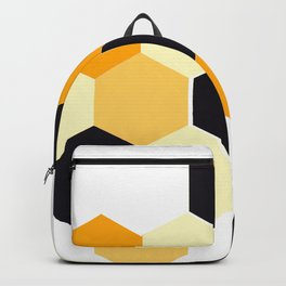 Hexagons,honeycomb ,geometric shapes decor Backpack