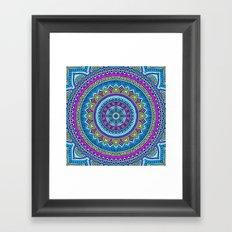 Hippie Mandala 20 Framed Art Print