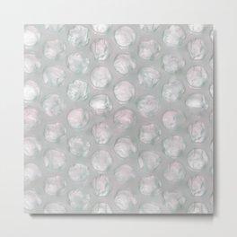 bubble foil negative Metal Print